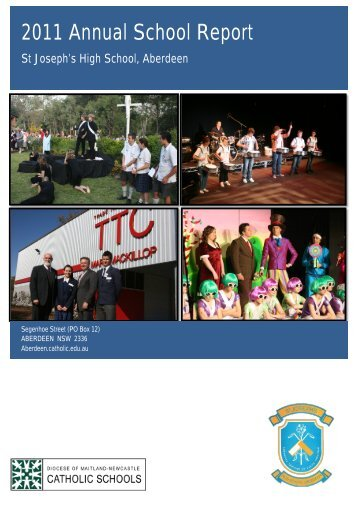 Annual School Report Secondary - Catholic Schools Office Maitland ...