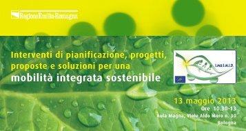 Programma - Mobilità - Regione Emilia-Romagna