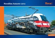 Novelties Autumn 2012 - Roco