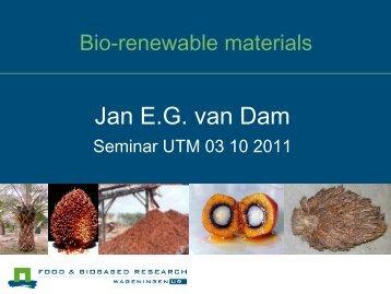 Renewable building materials - UTM