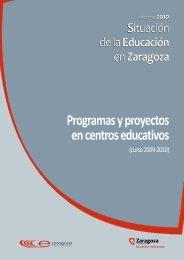 Programas y Proyectos en Centros Educativos (curso 2009-2010)
