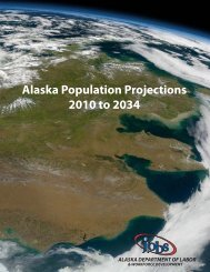 Alaska Population Projections 2010 to 2034 - Research and ...