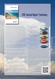 Annual report 2012 (four page summary) - Centre of Excellence for ...