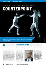 Novell and Red Hat security experts face off on ... - Linux Magazine