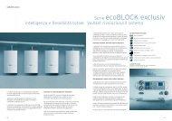 Serie ecoBLOCK exclusiv - Vaillant