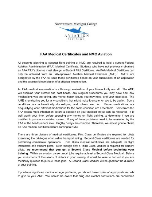 How to obtain your FAA medical and student pilot certificate