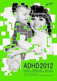 adhd 2012 - ADHD: Foreningen
