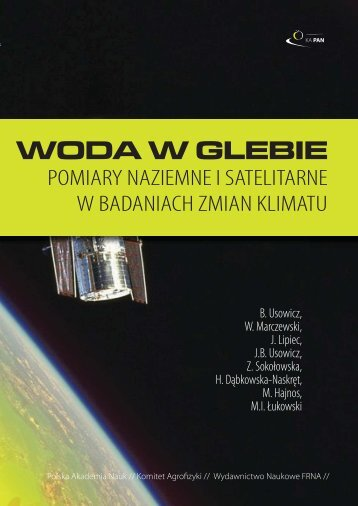 WODA W GLEBIE – POMIARY NAZIEMNE I SATELITARNE ... - Lublin