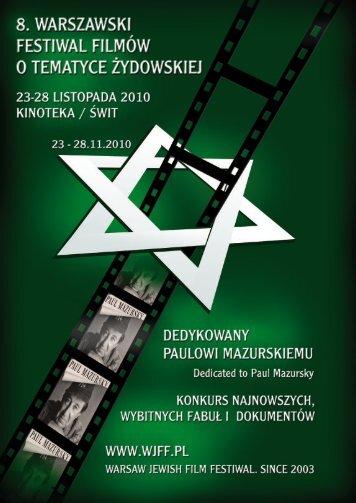 Katalog 2010 (A4, pdf 7M) - Warsaw Jewish Film Festival