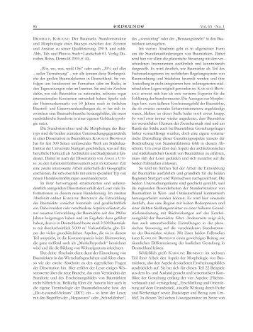 Rezension von Claus-C. Wiegandt in Erdkunde Heft