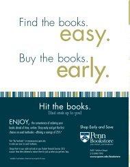 Guide for Penn Families - University of Pennsylvania