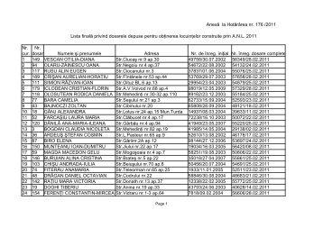 lista anl2011 nr.2 - Ziua de Cluj