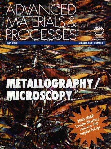 Advanced Materials & Processes
