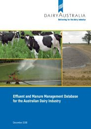 to download complete document - Dairying For Tomorrow