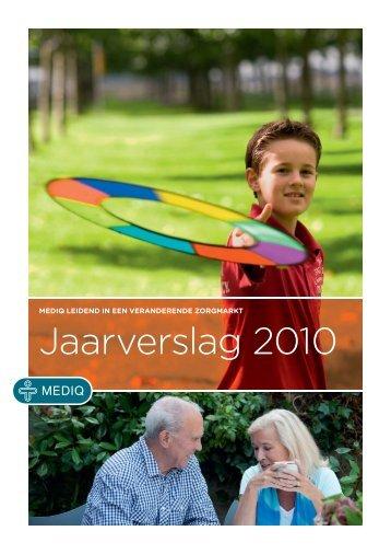 Mediq Jaarverslag 2010 - Alle jaarverslagen