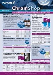 Innovative Produkte für die Chromatographie und instrumentelle ...