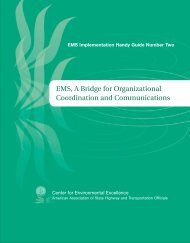 EMS, A Bridge for Organizational Coordination and Communications