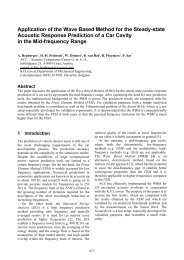 Application of the wave based method for the steady-state acoustic ...