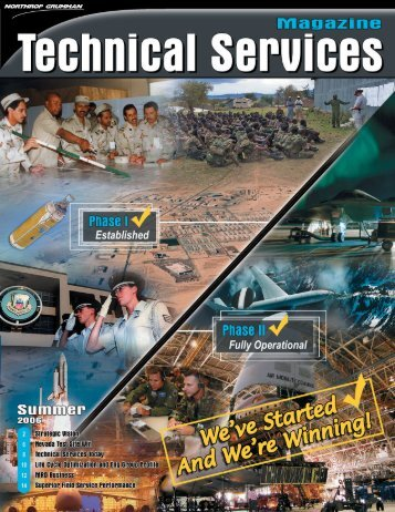 Technical Services Magazine, Summer 2006 - Northrop Grumman ...