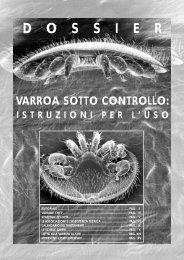 Varroa sotto controllo: istruzioni per l'uso - Unaapi
