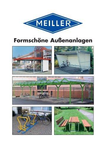 Formschöne Außenanlagen - Meiller GmbH & Co. KG