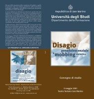 clicca qui - Università degli Studi della Repubblica di San Marino