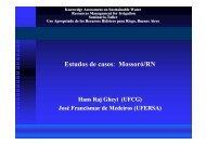 Estudos de casos: Mossoró/RN