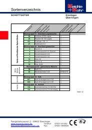 P-Preisliste Lager Überlingen 02.2009 PDF - Meichle & Mohr GmbH