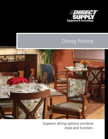 Dining Rooms   Direct Supply