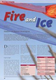 EINLEINER Flames von Robert Brasington - Dietrichs