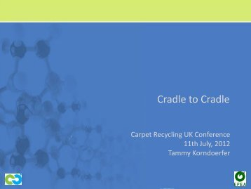 Cradle to Cradle - Carpet Recycling UK