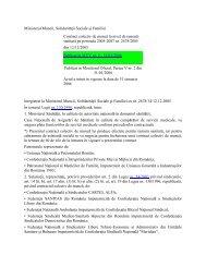 Ministerul Muncii, Solidarităţii Sociale şi Familiei ... - Institutul ORL