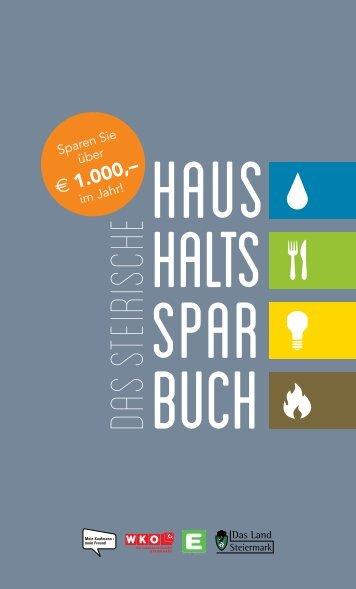 Steirisches Haushaltssparbuch - Energie - Steiermark