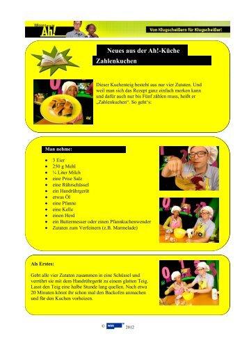 Sandwich-Rezepte Neues aus der Ah!-Küche