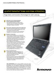 Lenovo THInKPAD R400 unD R500 noTebooKs