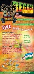 LIVE 30.08.-01.09.2013 - Campingplatz Fränkische Schweiz