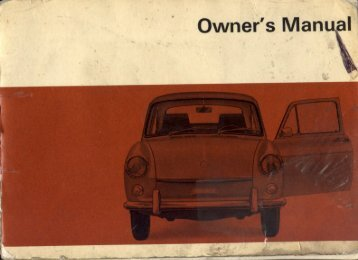 1968 Type 3 Owner's Manual - PDF - TheSamba.com