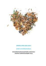 OPINTO-OPAS 2012-2013 - Lahden ammattikorkeakoulu