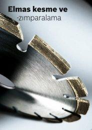 Elmas kesme ve -zımparalama - Bosch elektrikli el aletleri