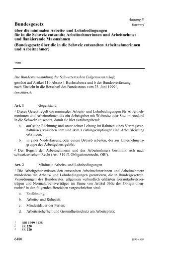 Bundesgesetz