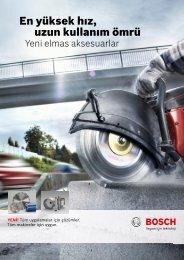 En yüksek hız, uzun kullanım ömrü - Bosch elektrikli el aletleri