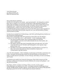 Referat - Früh- und Risikogeborene Kinder Rheinland-Pfalz