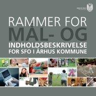 Rammer for MÃ¥l- og indholdsbeskrivelse - Aarhus.dk