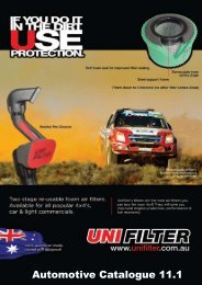 Air filters that work! - Unifilter Australia