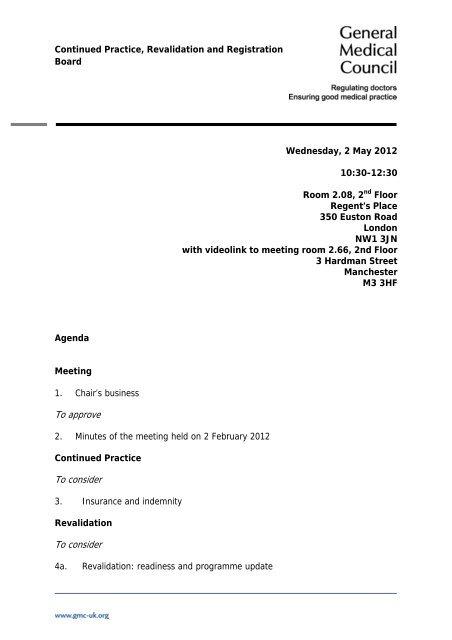 Gmc Agenda Template 011107