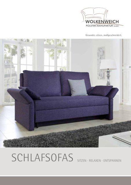 SCHLAFSOFAS - Wolkenweich Polster-Manufaktur GmbH