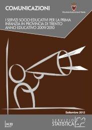 I servizi socio-educativi pubblici per la prima infanzia - Servizio ...