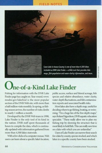 5109 One-of-a-Kind Lake Finder - webapps8
