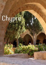 Chypre intime - Atelier du Voyage