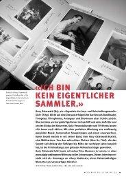 «ICH BIN KEIN EIGENTLICHER SAMMLER.» - Memoriav